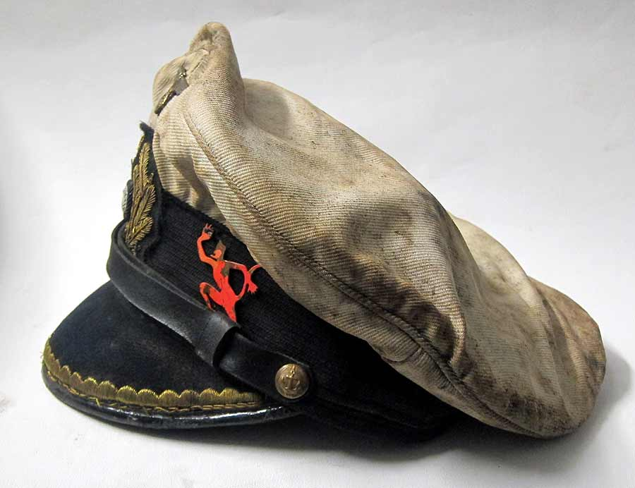 U-552 Erich Topp Kaptains Hat