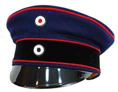 Imperial Prussian Specialist Officer Visor Cap Pre-1907