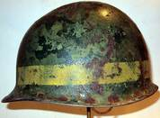 Refurbished M1 to M2 Paratrooper Helmet Left Side