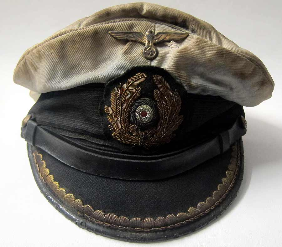 Submariners Cap WW2 Front