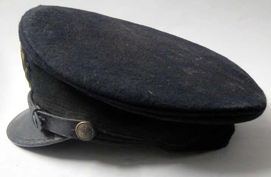 Titanic Officers Cap Side