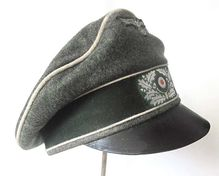 German Army Officers Crusher Cap