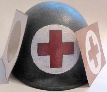 American Helmet Stencils Wwii Paratrooper Infantry