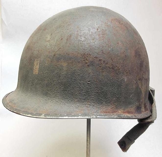 M2 502'd Parachute Infantry Regiment 1st Battalion Officer Helmet - Reproine