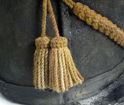 British Waterloo Shako 1815 cords and tassles