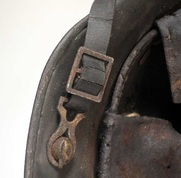 M16 chinstrap with repair & cracks