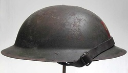 British Brodie Helmet Right