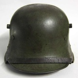Aged and polished german Helmet