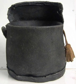 British Waterloo Shako 1815 rear