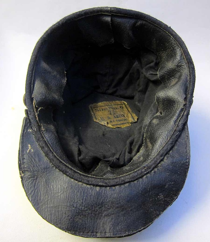 American Civil War Kepi Makers Label