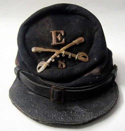 American Civil War Hat front view
