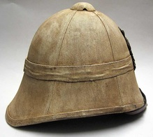 Zulu War Helmet Right Side