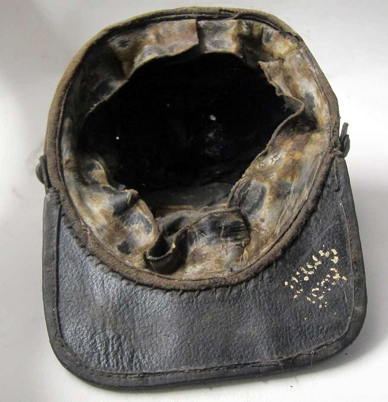 American Civil War Confederate Hat Texas Brigade inside