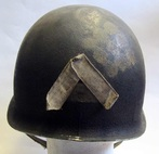 Refurbished M2 Airborne 509th Helmet Rear View