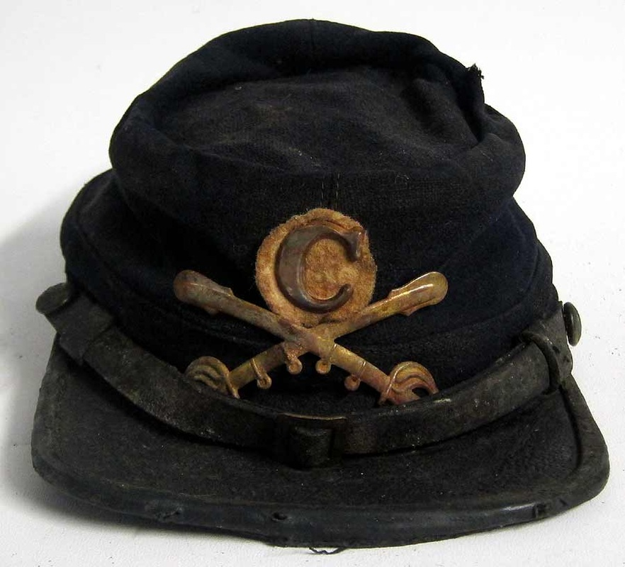 2 div I corp Army of the Potomac cavalry kepi