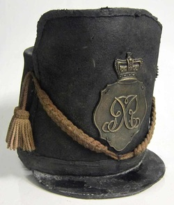 British Waterloo Shako 1815