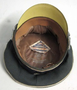 Waffen SS EREL Hat Maker Markings