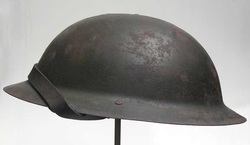British Brodie Helmet Left View