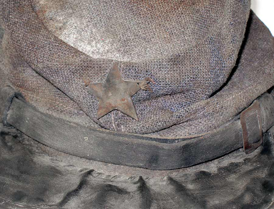 American Civil War Confederate Hat Texas Brigade Star