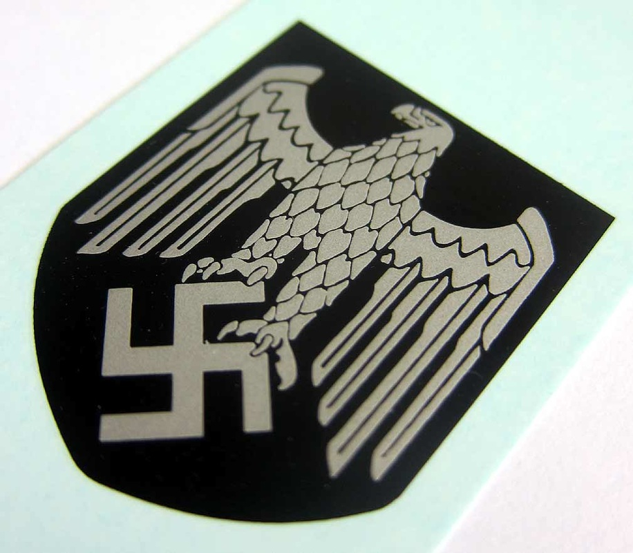 Helmet Decal of the Whermacht - Eagle