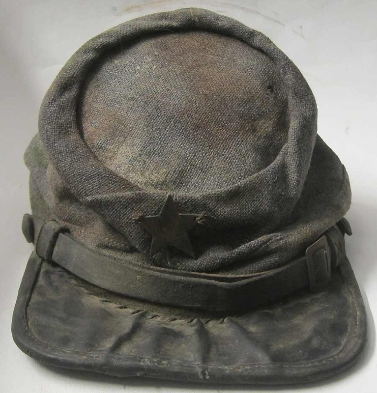 American Civil War Confederate Hat Texas Brigade front