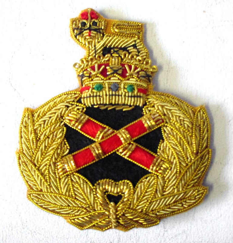 WW2 British Field Marshal Badge