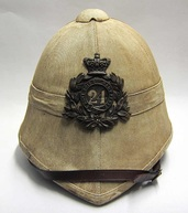 Zulu War Helmet 24th Foot