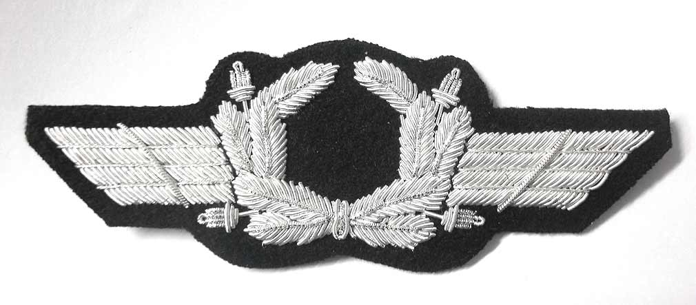 Luftwaffe Hat Wings - no Roundel
