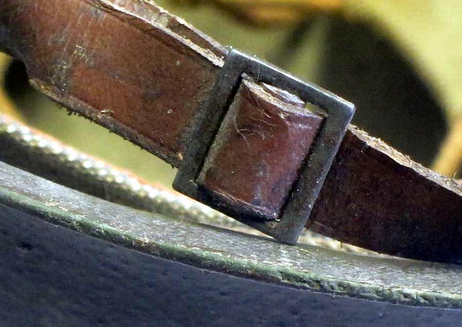 Early War Liner Chinstrap buckle