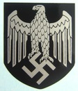 WW2 German Helmet Eagle Decal