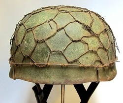 M38 Paratrooper Helmet Winter Camo