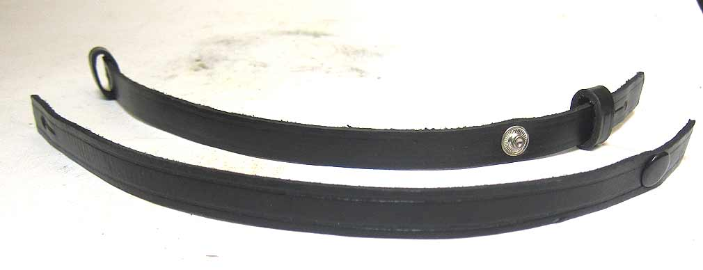 leather chin strap for a kriegsmarine officer's cap