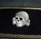 Sepp Dietrich Skull Badge