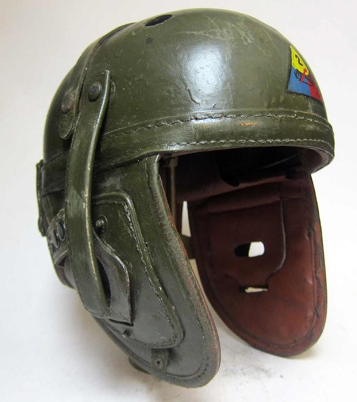 M38 USA Tanker Helmet -2'd Armoured Division in USED condition
