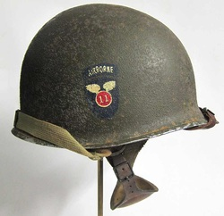 M2 11th Airborne Helmet Right View