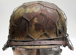 Waffen SS M42 Helmet Italy Front