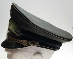 Rommels Visor Cap left view