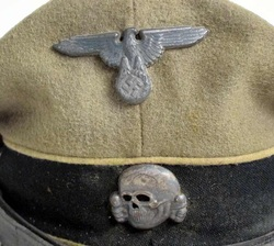 Waffen SS NCO Hat Insignia