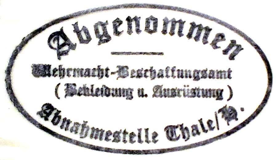 German Helmet Dome Stamp
