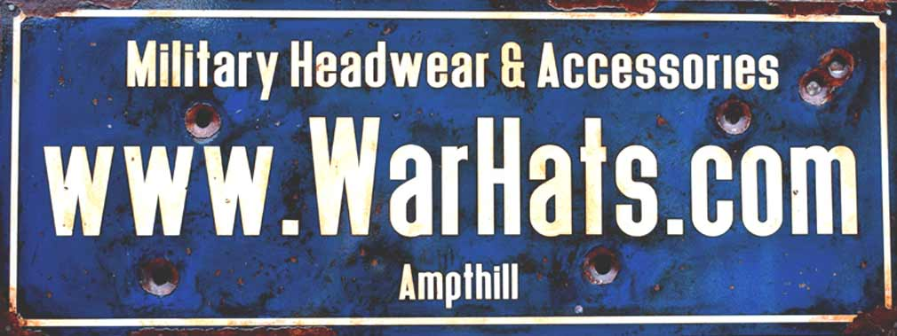WarHats - New Office sign courtesy of Signs Of War