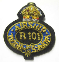 Royal Airship Works - R100 R101 Badges
