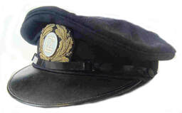 German Zeppelin Officers Cap 'LZ' (Luftschutz Zeppelin) Pre-WW2