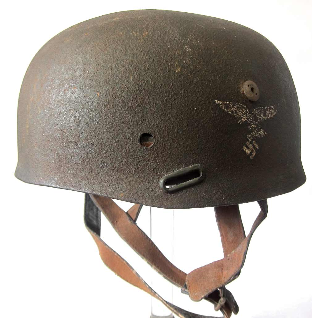 German Paratrooper Helmet M36 to M38 Conversion