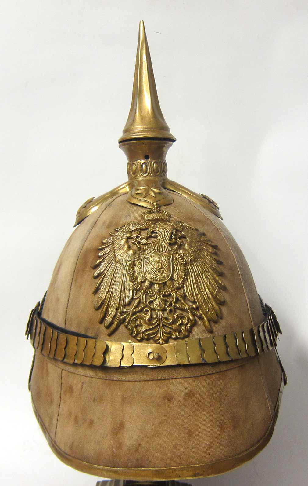 Tropical Helmet for Officers of the Schutztruppe - Diplomatic Corps