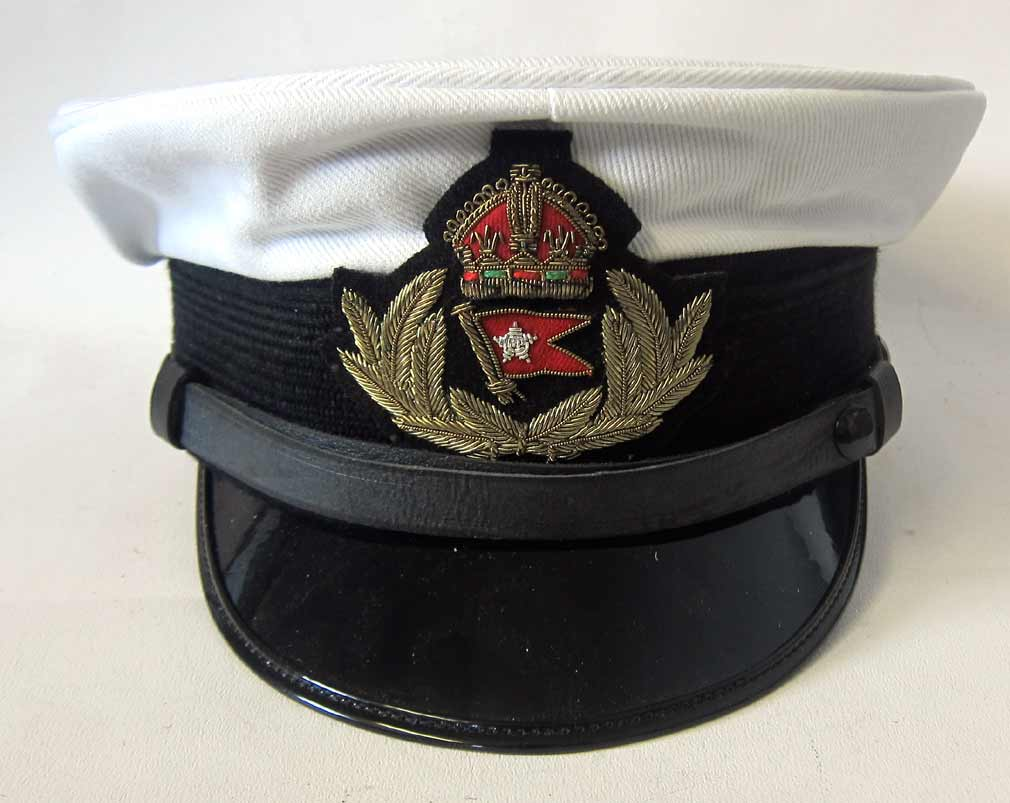 White star Line Officers Cap White Top
