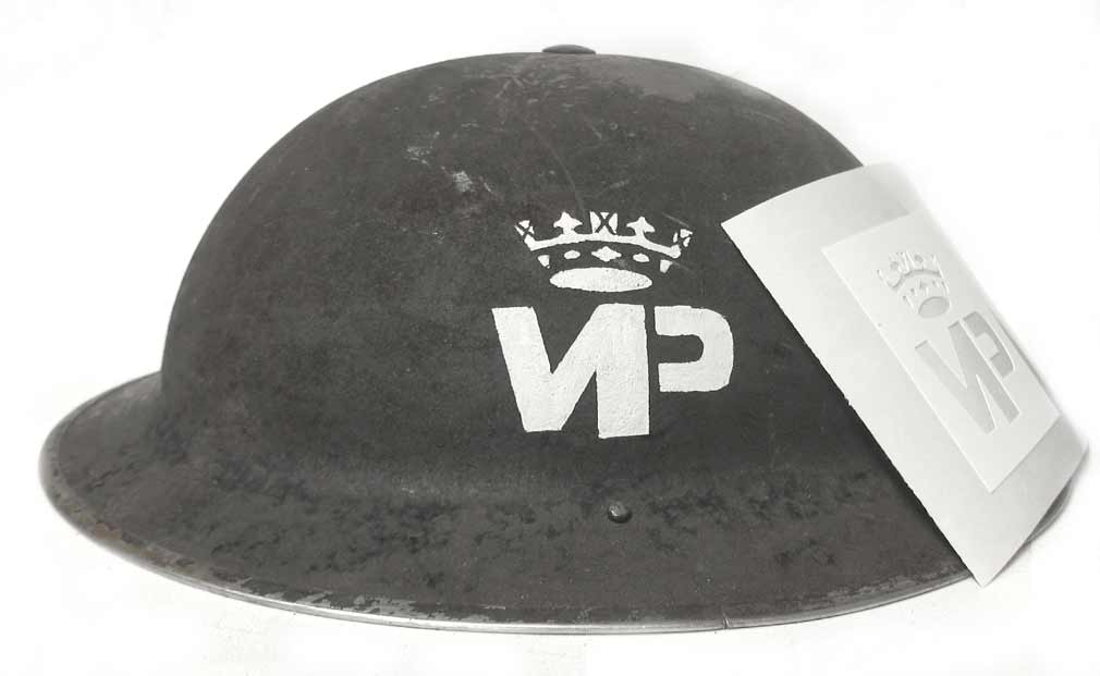 Princess Patricia's Canadian Light Infantry WW2 Helmet Stencil