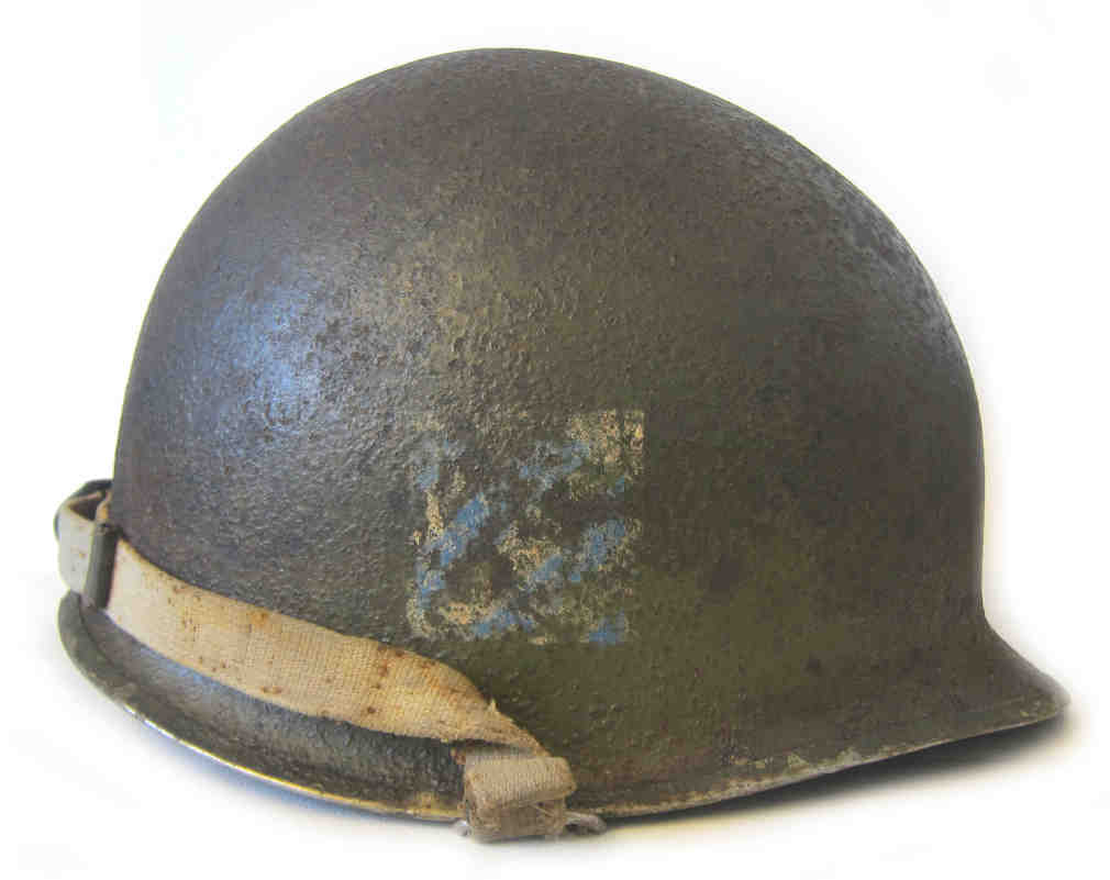 M1 Swivel Bale 3rd Infantry Division, Third Battalion, 7th Infantry Regiment Helmet