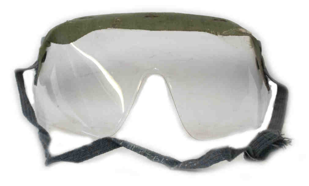 British WW2 Gas Goggles MKII MKIII