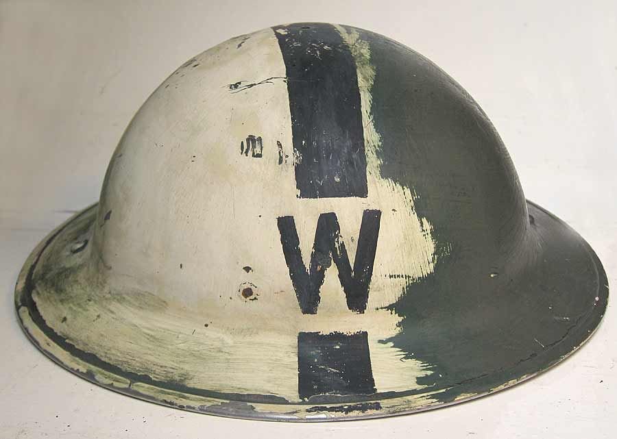 WW2 WARDENS Helmet