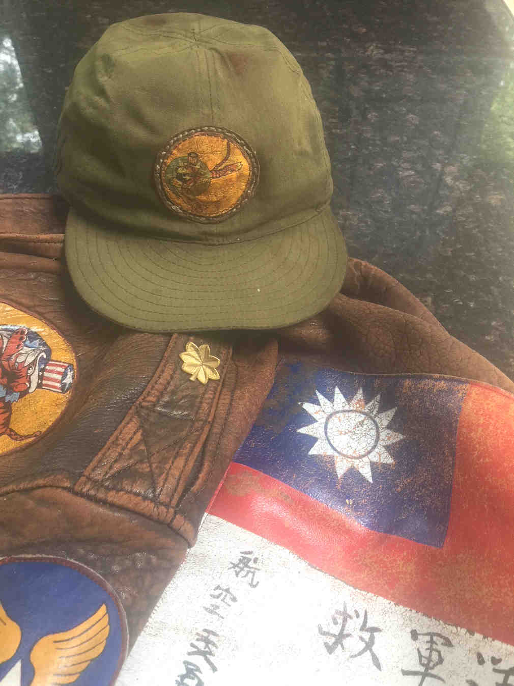 WW2 USAAF A-3 Flying Tigers Hat